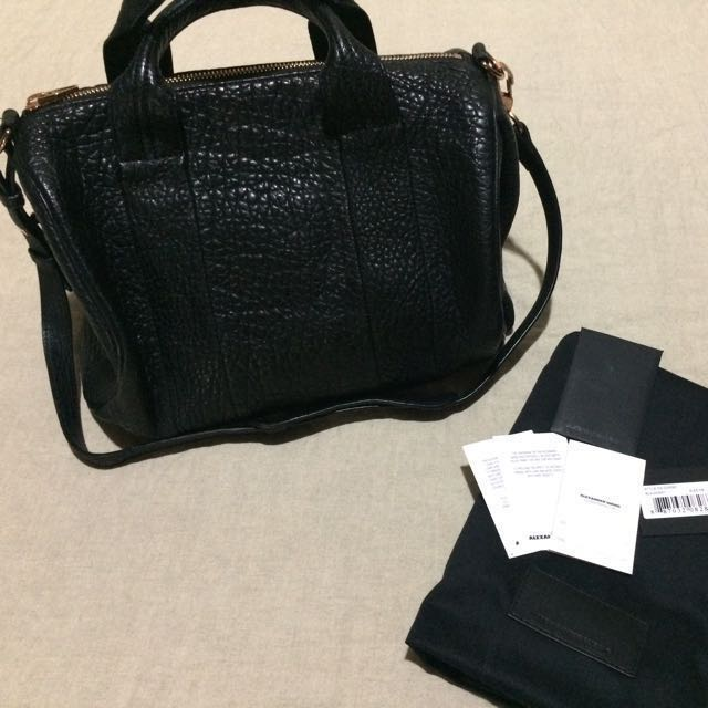 EUC Authentic Alexander Wang Rocco Duffel Bag