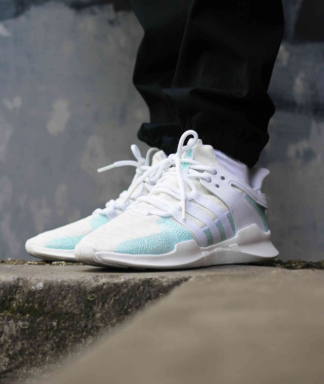 size 40 08e1e 6235d FAST!!) Adidas EQT Support ADV x Parley Icey Blue, Men's ...