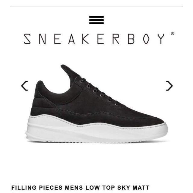 Filling pieces Men's Low Top Sky Matt Shoe