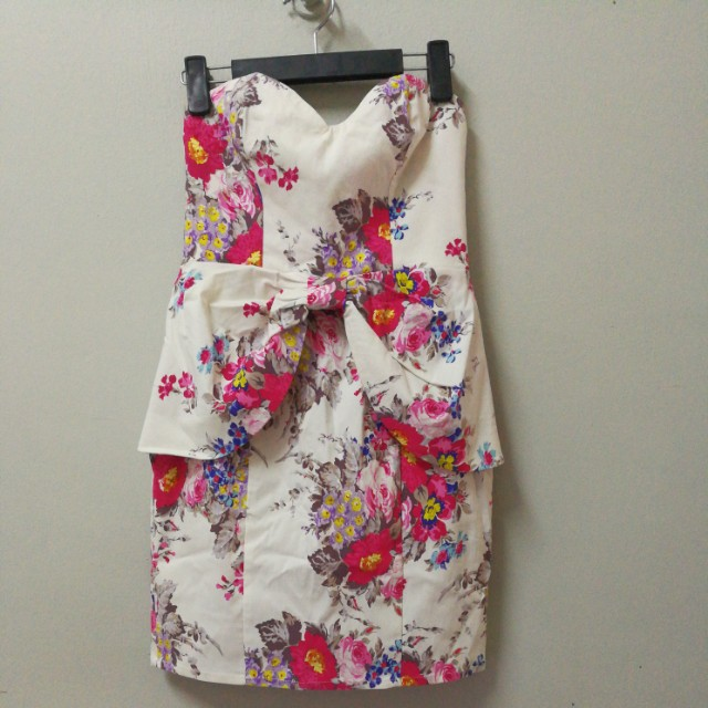 Floral Tube Dress AUTHENTIC PRELOVED