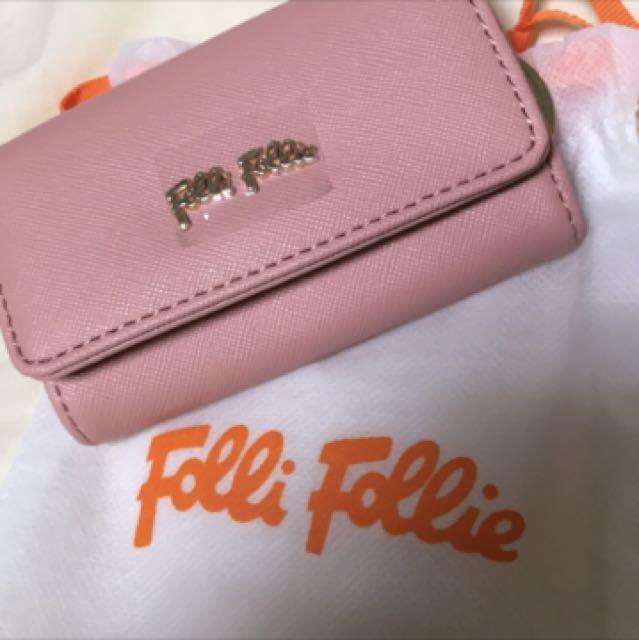 Folli Follie鑰匙包(粉色)