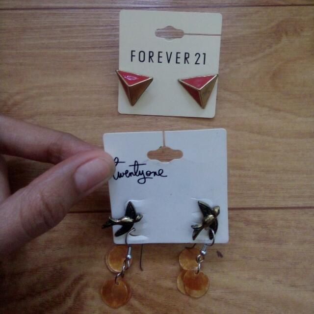 Forever21 Ring & Earing