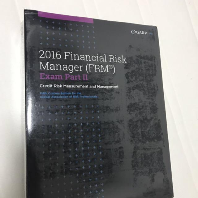 FRM (Financial Risk Management) Original GARP Study Materials, Books ...