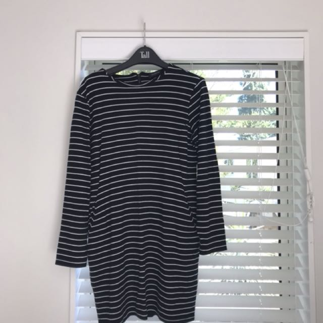 Glassons Striped Bodycon Dress