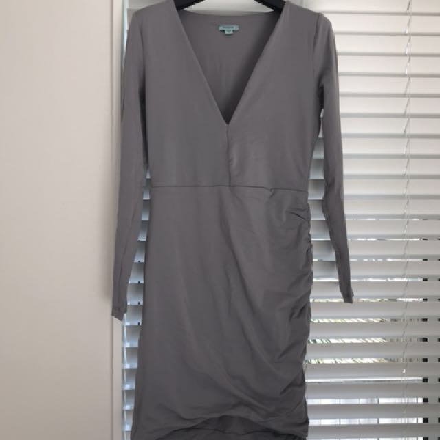 Grey Kookai Bodycon Dress