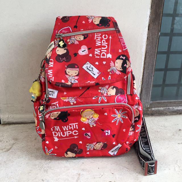 Harajuku Lovers Red Backpack