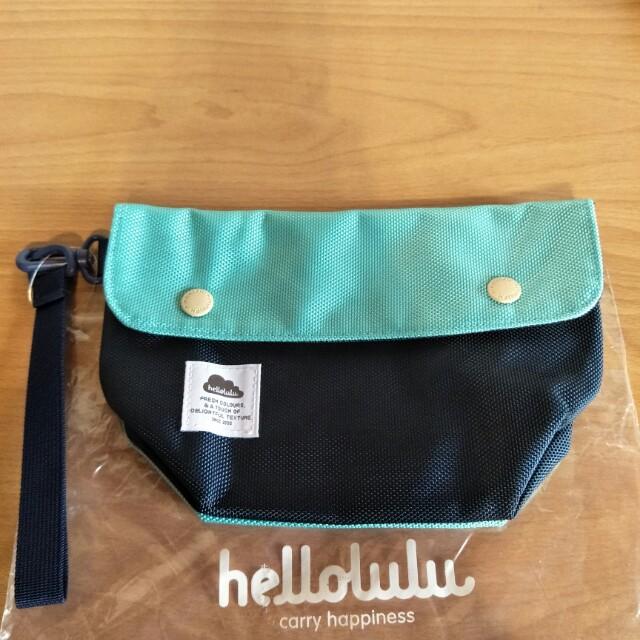 全新hellolulu 手拿包,23.5*16,隔層多,好分類