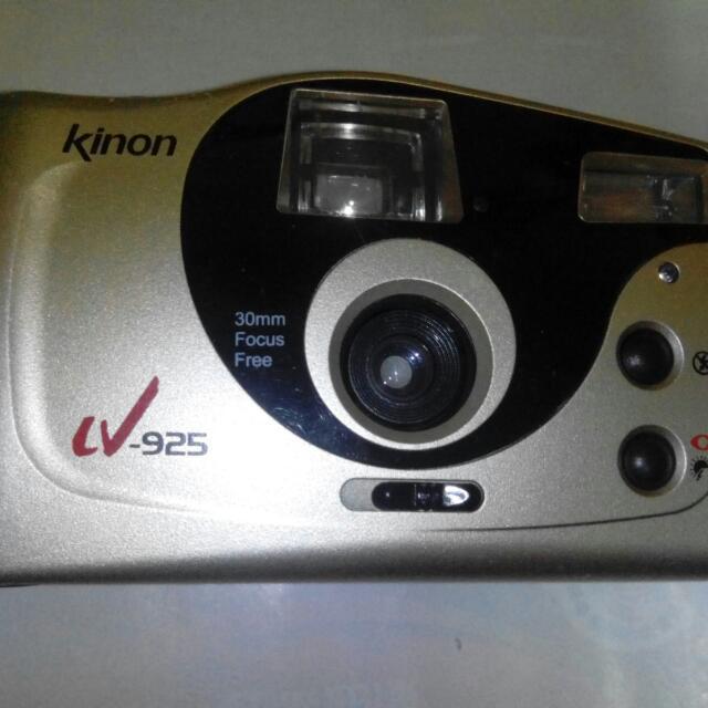 Kinon底片相機,底片相機,古董相機,相機,攝影機~Kinon底片相機(拍攝功能正常)
