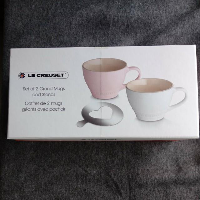 Le Creuset Set of 2 Grand Mugs