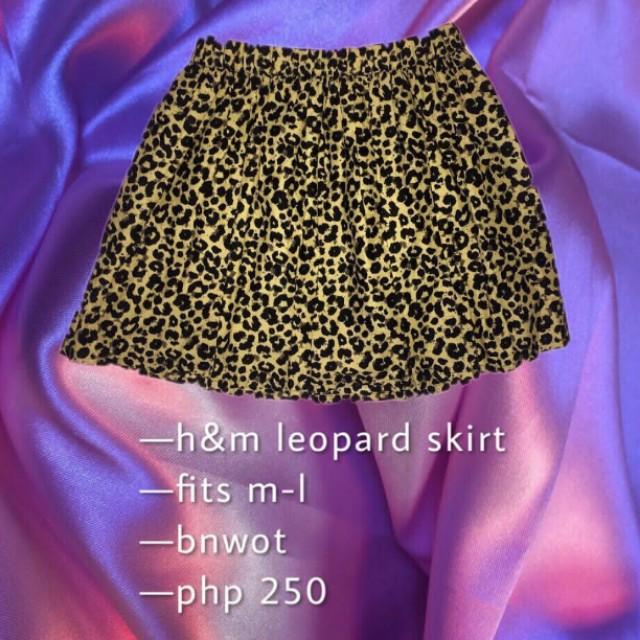 Leopard skirt 🐆