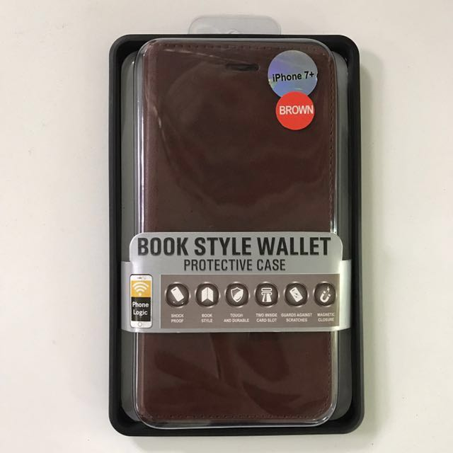Logic Case Book Style Wallet for iPhone 7 Plus