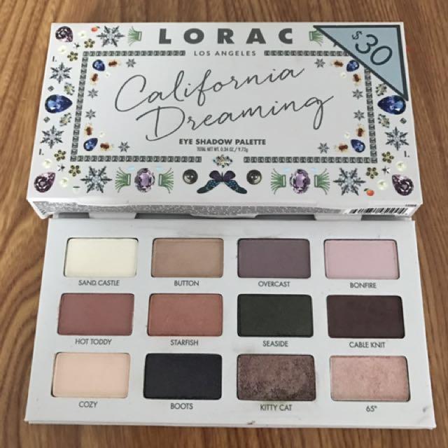 Lorac california dreaming eyeshadow palette reprice