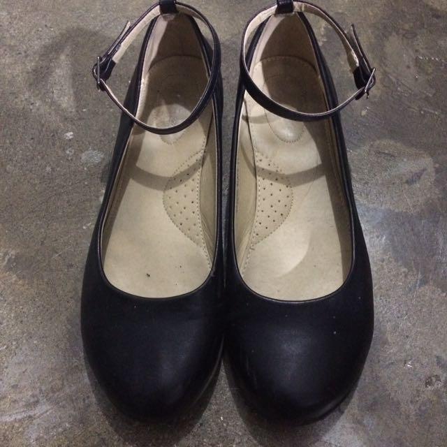 Mendrez Woman | School Shoes / Black Shoes