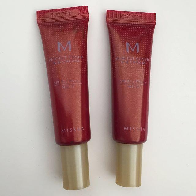 Missha M Perfect Cover B.B. Cream