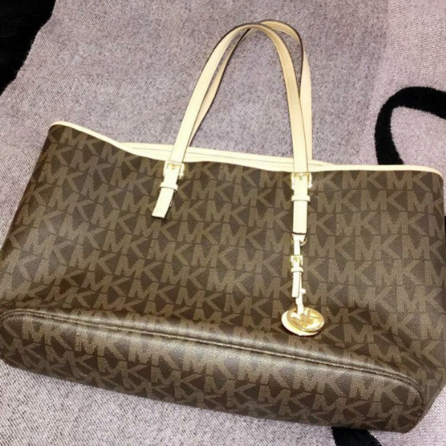 MK micheal kors brown bag almost new