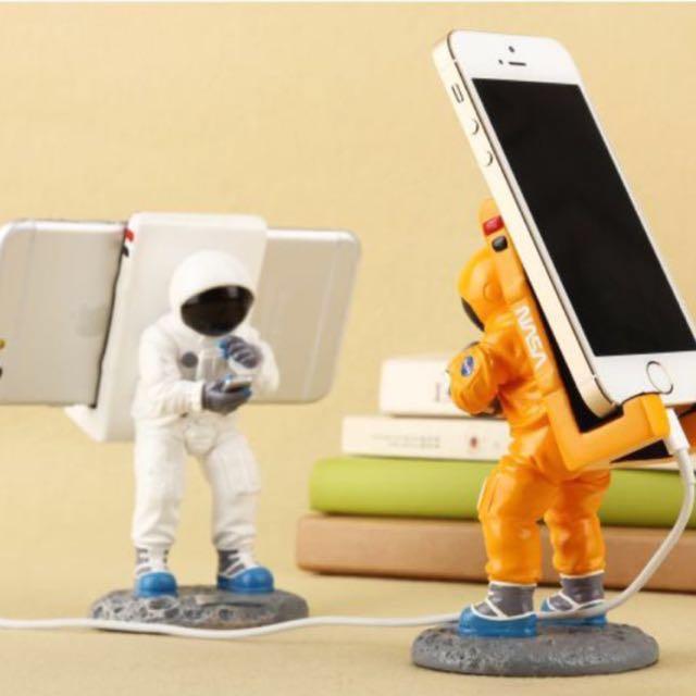 現貨甭等🚛送禮首選!!!美國🇺🇸NASA太空人手機支架
