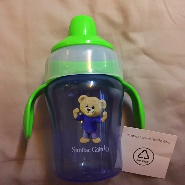 4fb2ef3f14 NEW : Similac Gain IQ soft sprout Sippy Cup, Babies & Kids, Nursing &  Feeding on Carousell