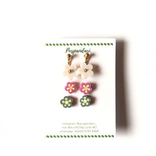 NEW Kembang Earrings @puspandari_