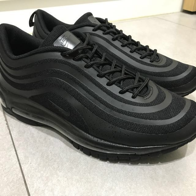 Nike air max 97 triple black 黑魂 慢跑鞋 ultra adidas