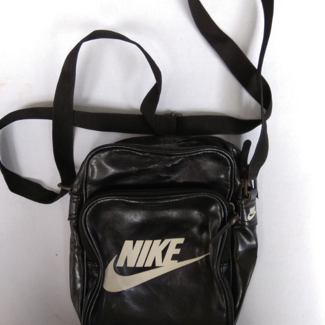 Nike Heritage Shoulder Bag Black Legit!