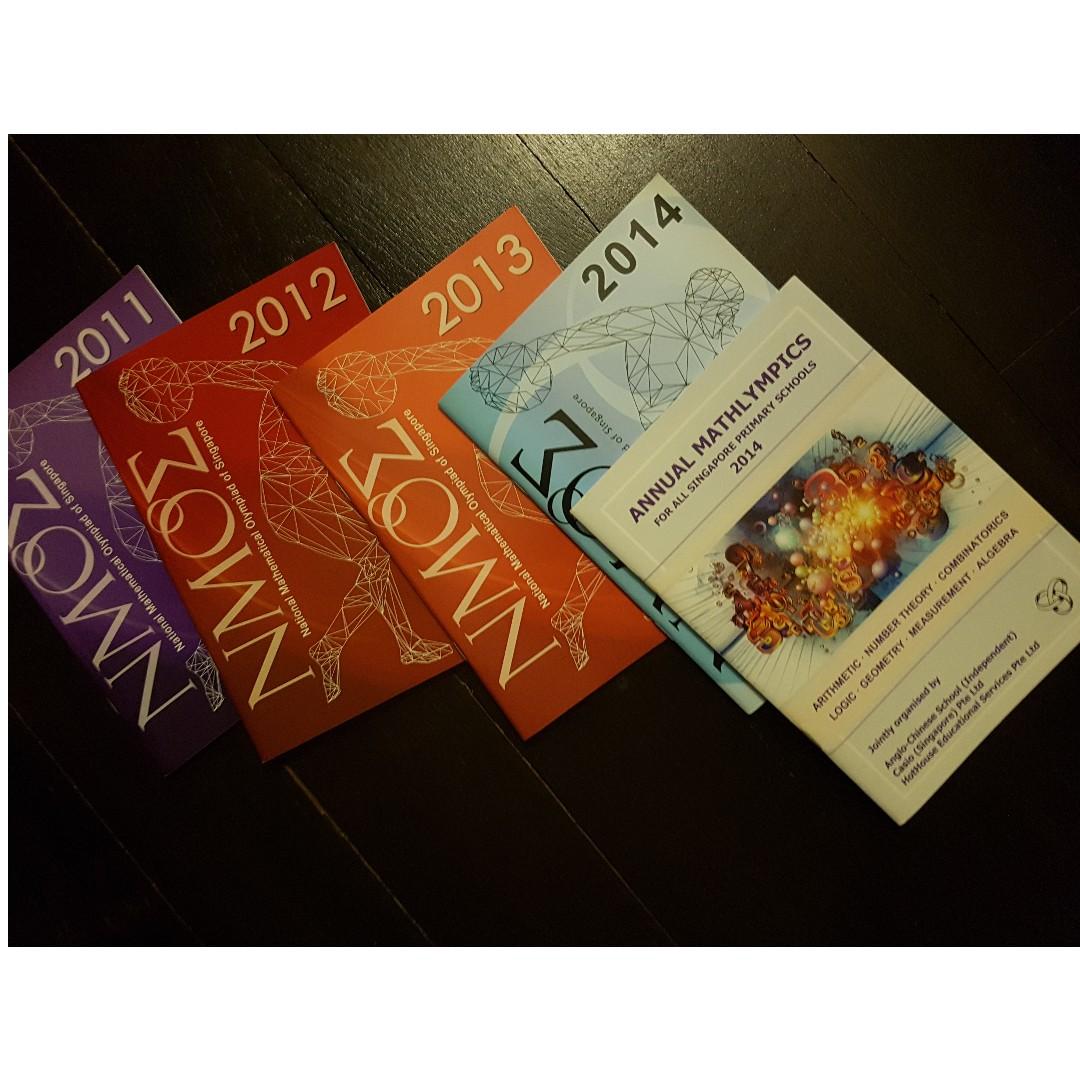 NUSHigh NMOS ACSI Math Olympiad books new