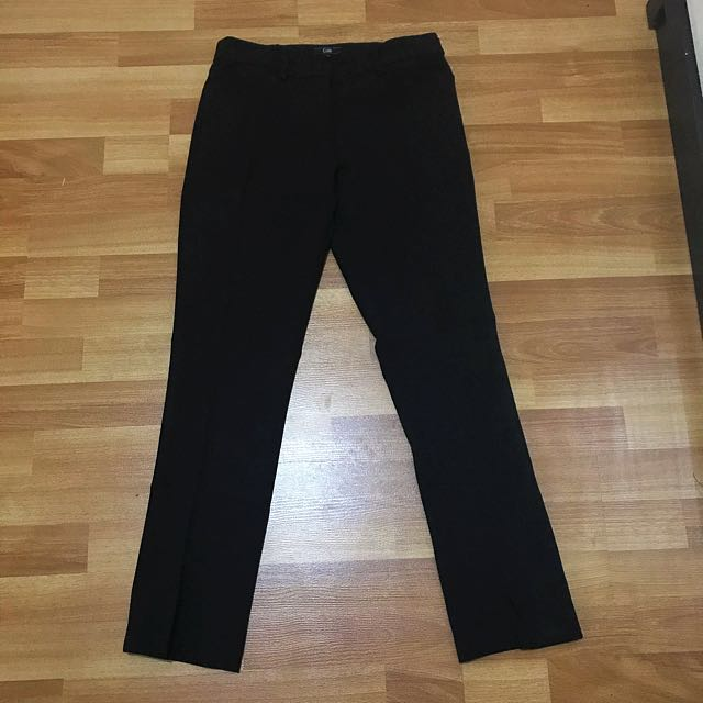 Office pants black