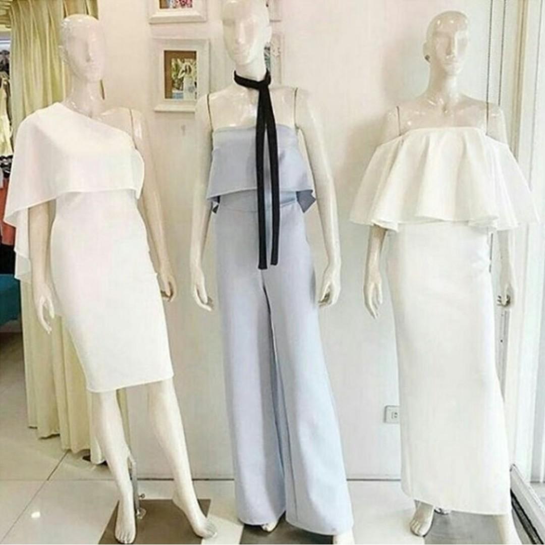 Olivia Dress Gaun Pesta Casual Formal Semi Formal Custom