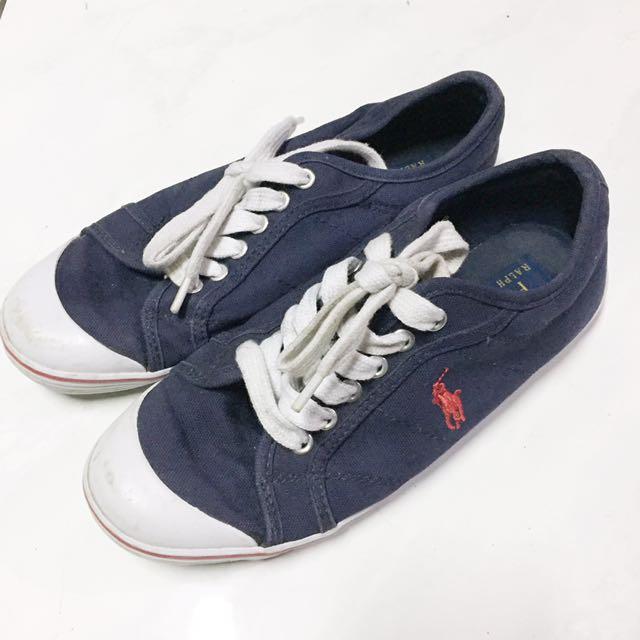 ORI Polo Ralph Lauren Navy sneakers