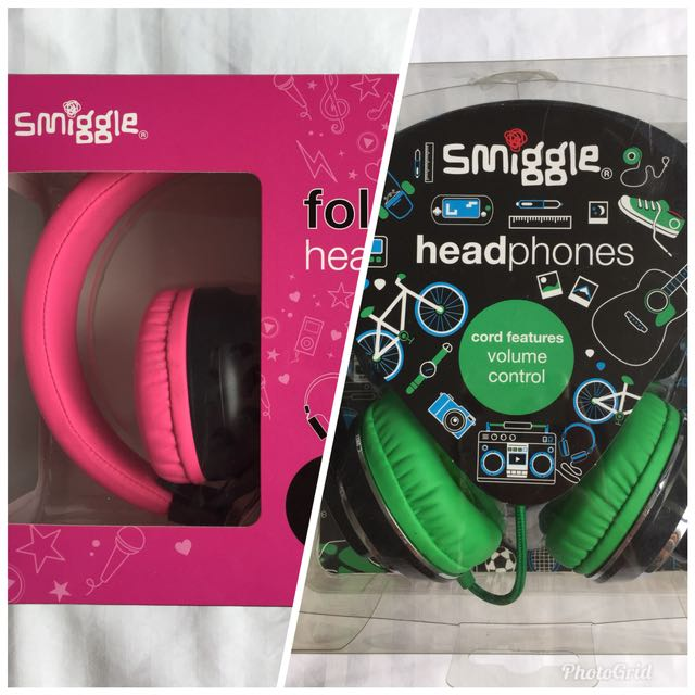 well known low priced authentic quality Pair of Smiggle headphones, Electronics, Audio on Carousell