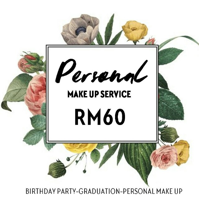 Personal Makeup  Services