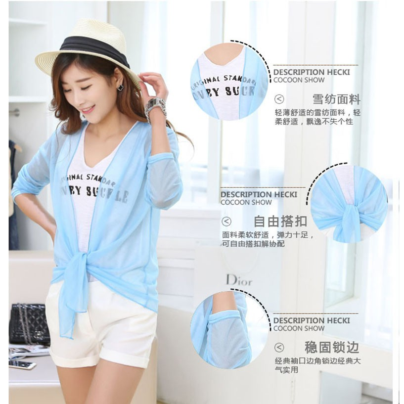 28922ee1f4c7f [PO] Women's Beachwear Beach Cover Up Chiffon Swimsuit Kimono Cardigan Tops  Shawl, Women's Fashion, Clothes, Outerwear on Carousell