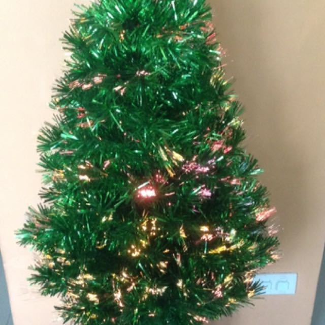 31131d52ddb4 Pre-loved 4feet Fiber Optic Christmas Tree