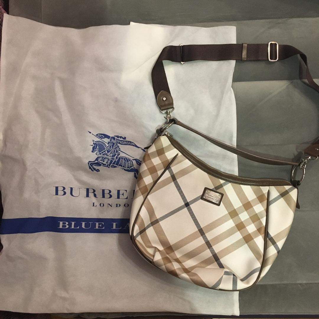 23b430b7bf59 Preloved Authentic Burberry Blue Label Shoulder Bag