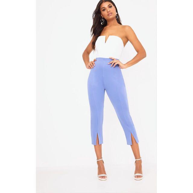 Pretty Little Thing Powder Blue Trousers