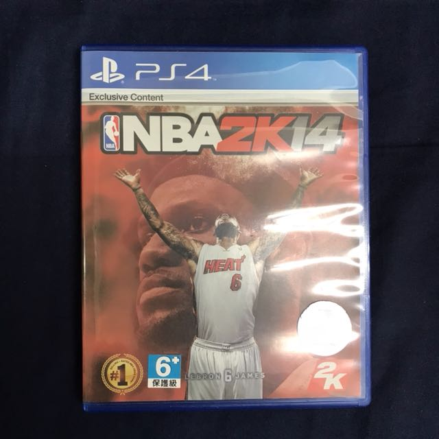 PS4 NBA2K14二手遊戲片