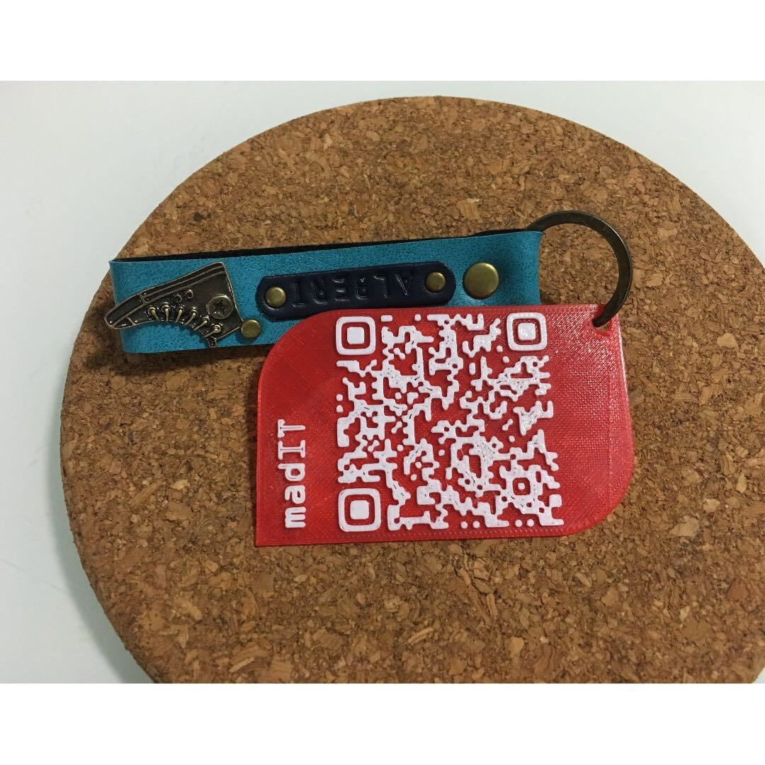 Qr code card customise gift name contact hidden message photo photo reheart Choice Image