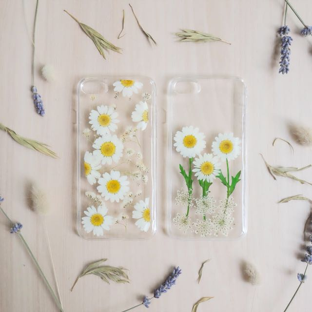 Real Flowers Iphone Case
