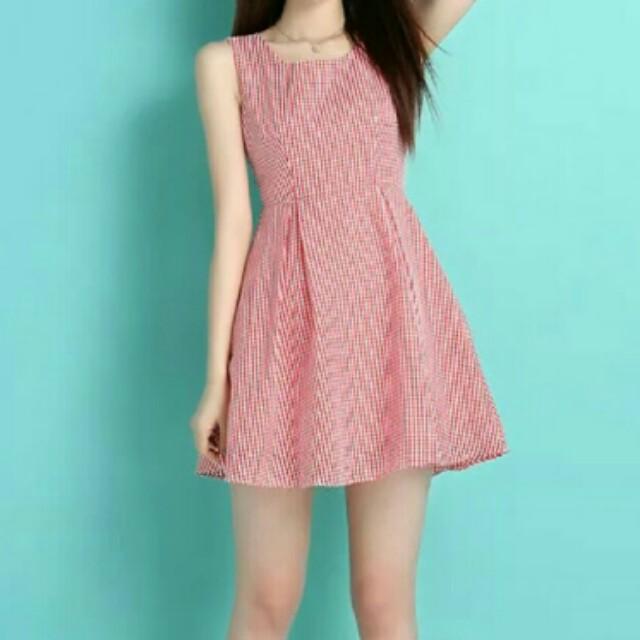 Red CNY Dress