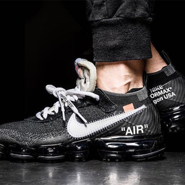 96ae856a957da Replica) OFF WHITE Nike VaporMax mens