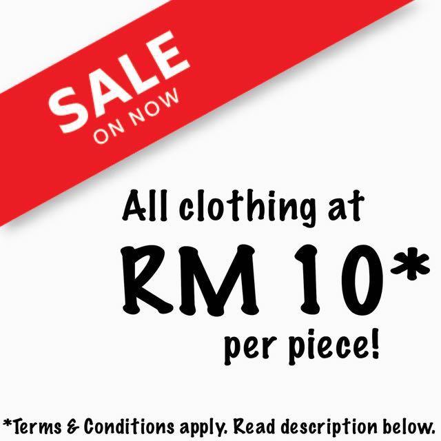 RM10 SALES!