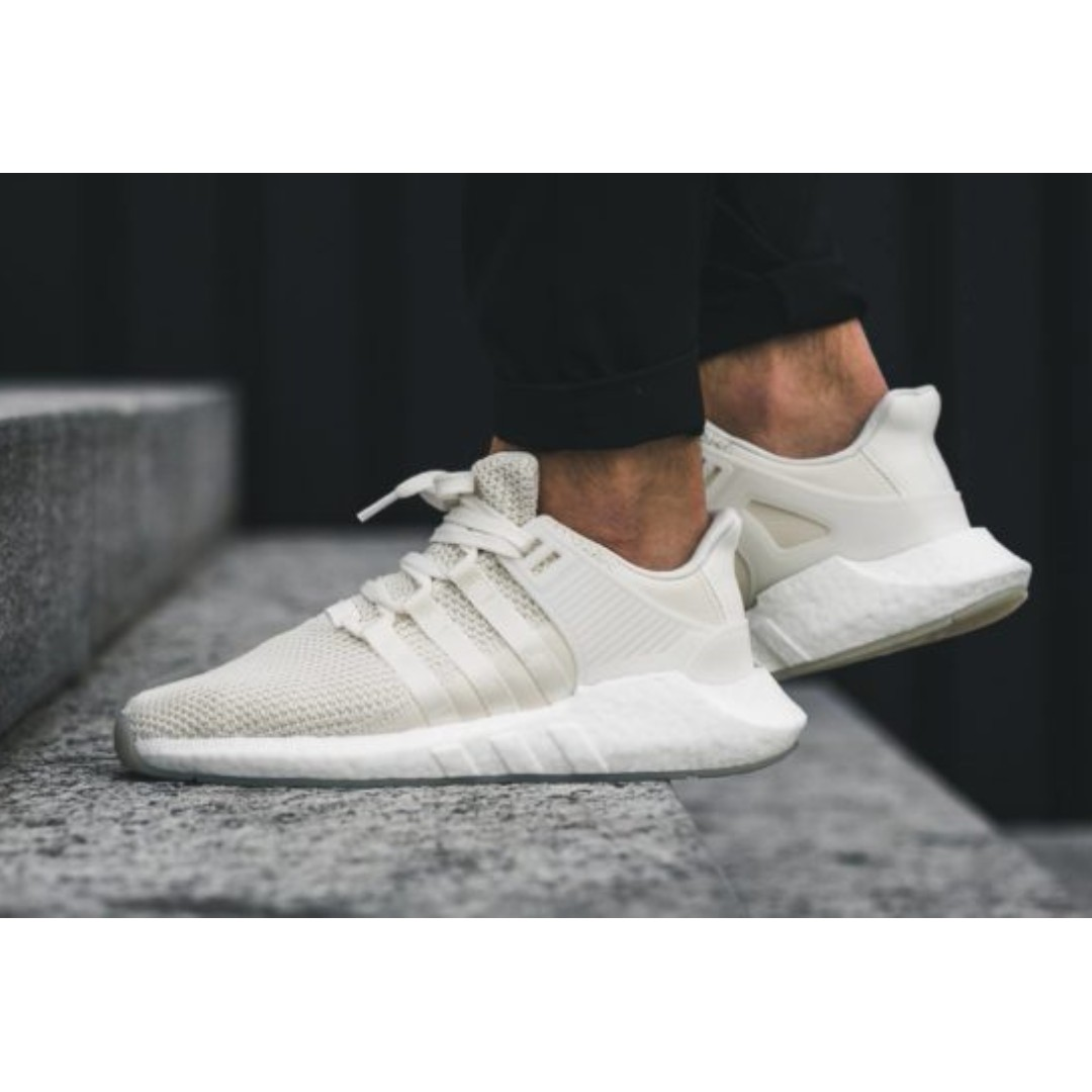 SALE!) Adidas EQT Support 93/17 (White), Men's Fashion