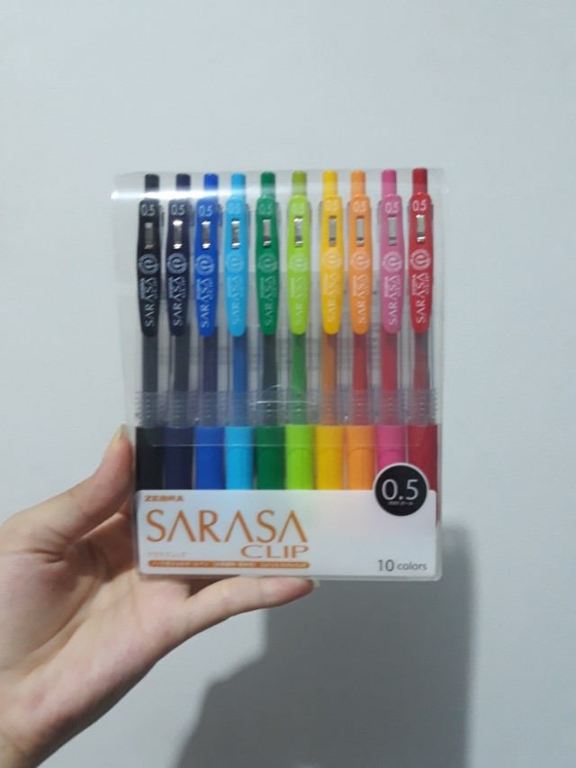 Sarasa ORIGINAL JAPAN all color (10)