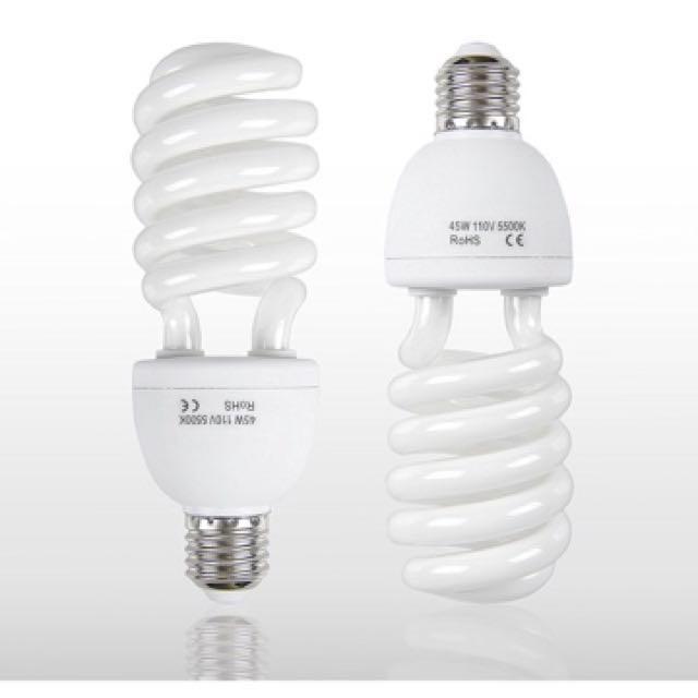 [Sellabrations] Clearance Energy Saving Photography Lightbulb 45W
