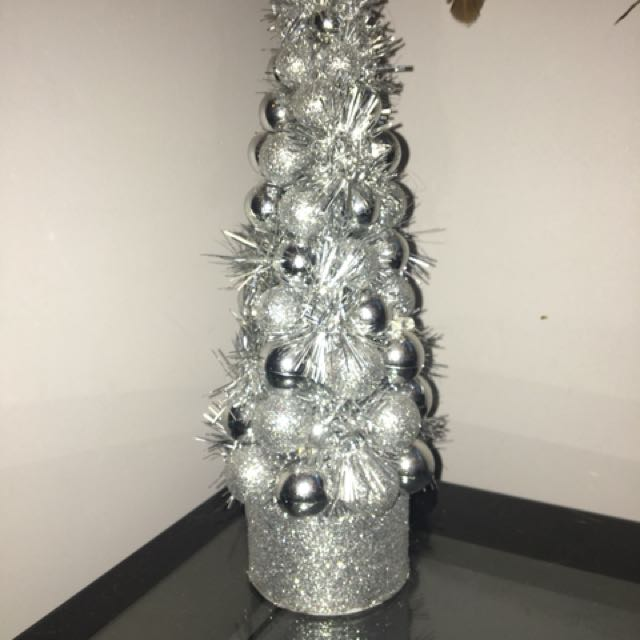 Small Silver Christmas Tree
