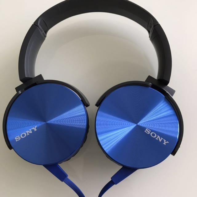 Sony耳罩耳機