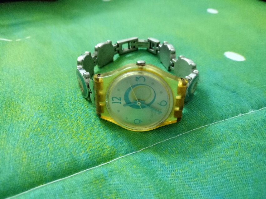 Swatch for spare parts