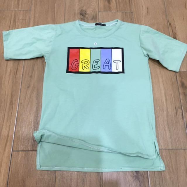 T Shirt/ Summer Top/ Short Sleeves