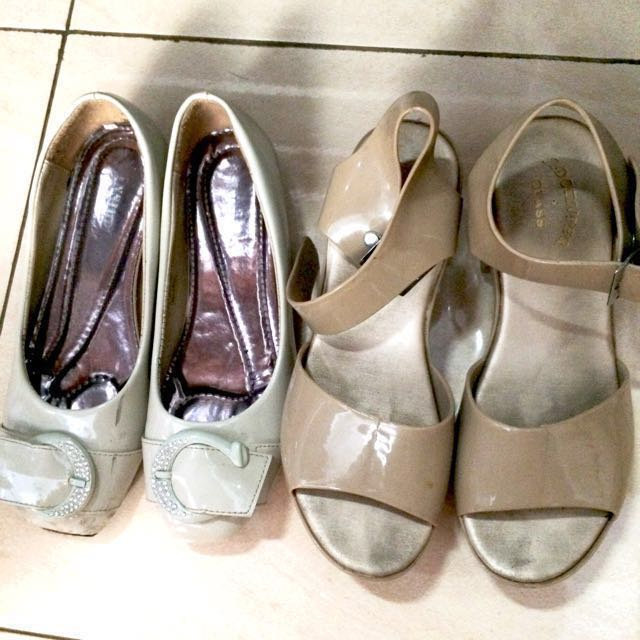 Take ALL 2 in 1 sepatu merk Inside Beli di matahari ) Free sepatu wedges