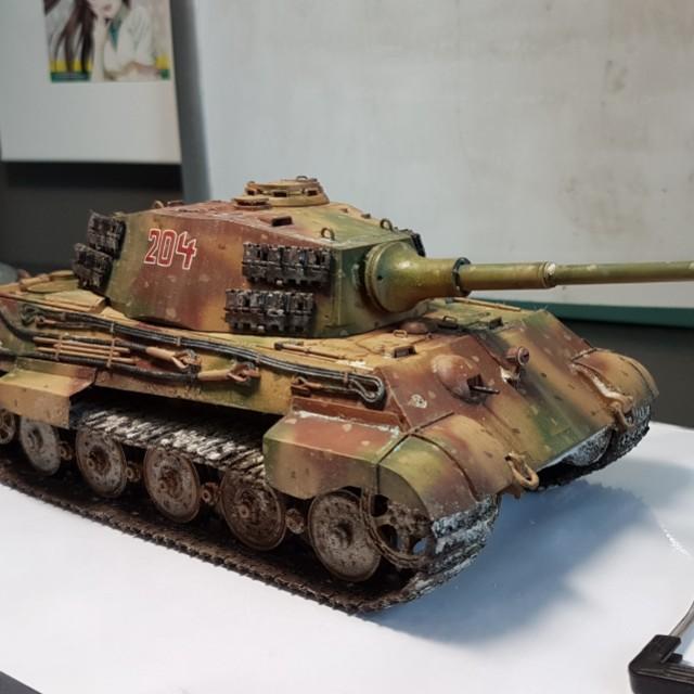 Tamiya 1/35 German King Tiger (Ardennes Front) Completed model