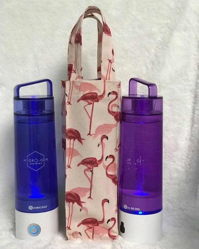 Tas botol hydrogen fontaine - flamingo